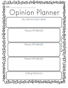 Opinion Writing Template.pdf - Google Drive persuasive writing
