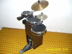 Image result for suitcase drum kit