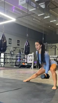 Leg And Glute Workout, Gym Workout Videos, Gym Workouts, Fitness Workout For Women, Workout Challenge, Fitness Inspiration, Exercises, Wellness, Training