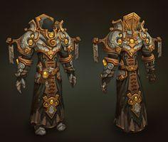 ArtStation - paladin armor, Tyson Murphy