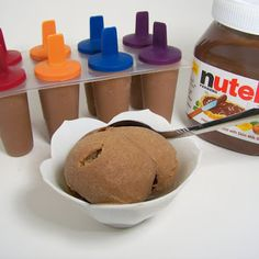 Nutella Ice Cream-  My kids and hubby would LOVE these!