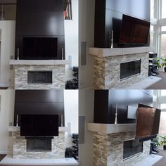 158 best tv above the fireplace images tv on wall wall mounted rh pinterest com