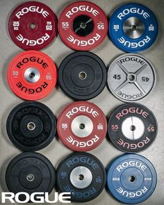 2e35d120f41d Rogue Fitness has every sort of Olympic size weight plate you may need -  bumpers