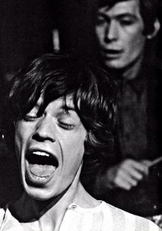 Mick Jagger & Charlie Watts | The Rolling Stones