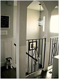 Home Decor Split Level Stairs Landing