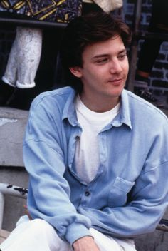 Andrew McCarthy in Pretty in Pink (1986) but actually it is his role in St Elmo's Fire that I love