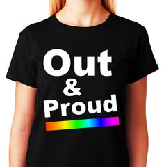 Hey, I found this really awesome Etsy listing at https://www.etsy.com/listing/202851531/out-proudlgbtq-equality-t-shirt