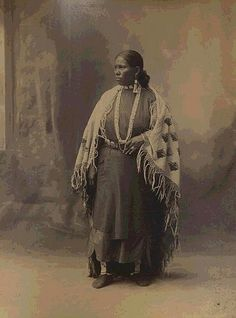 My relative who later went by the name given to her when she became apart of the Tonkawa Tribe. Marry Richards of Black and Lipan ancestry.