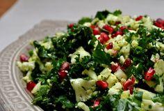 Winter Kale and Cauliflower Salad. Thanks Mims! I've been on a kale salad binge.