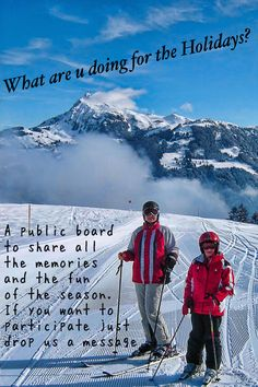 Join this public board and share with all of us the beauty of the season. Tell us about your travels and the people you find on the road and everything else. To become a collaborator just send us a message and we will add you!