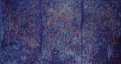 Panorama 1962   Antonio Bandeira óleo sobre tela, c.i.d. 130.00 x 245.00 cm