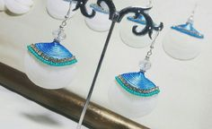 Caribbean, Tropical, Dreams, Drop Earrings, Beach, Fashion Design, Jewelry, The Creation, Hand Made