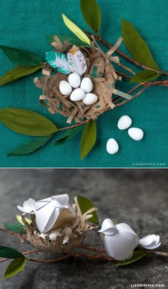 DIY #EasterDecor at www.LiaGriffith.com