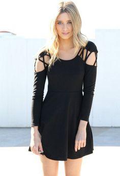 #saboskirt.com            #Skirt                    #SABO #SKIRT #Avril #Dress #$48.00                  SABO SKIRT Avril Cut Out Dress - $48.00                                       http://www.seapai.com/product.aspx?PID=1051480
