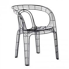 Becker Minty Steel Chair