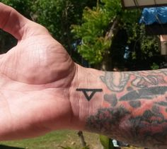 The 'Thurisaz' Rune, also known as 'Thor' or 'Thorn', represents strong resistance, power, strength and force.