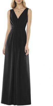 Shop Now - >  https://api.shopstyle.com/action/apiVisitRetailer?id=541168647&pid=uid6996-25233114-59 Women's Social Bridesmaids V-Neck Georgette Gown  ...