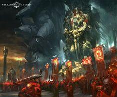 Warhammer Fantasy, Warhammer 40k Blood Angels, Warhammer 40k Art, Space Marine, Ork Warboss, Battle Brothers, Lord Of War, Mass Effect Universe, The Horus Heresy