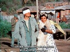 Hahahahahahahaha!!!!!! I LOVE M*A*S*H! Watched this very episode just a few nights ago!