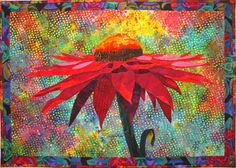 Hey, diesen tollen Etsy-Artikel fand ich bei https://www.etsy.com/de/listing/214939806/cone-flower-art-quilt-pattern-by-lenore