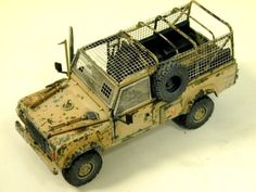 Military Models and 1/35 Scale Models by Accurate Armour. Land Rover XD TUM Op'-Telic Patrol