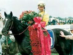 Sunday Silence won the 1989 Kentucky Derby and Preakness Stakes but finished behind Easy Goer in the Belmont Stakes Horse Fly, Horse Racing, Breeders Cup Classic, The Belmont Stakes, Derby Horse, Preakness Stakes, Triple Crown Winners, Derby Winners, Black Stallion