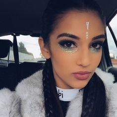 festival glitter makeup - Google Search