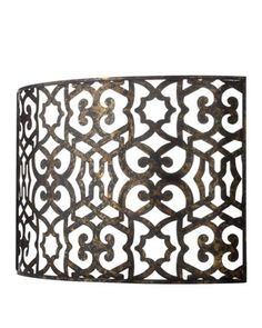 Curved Fireplace Screen - Horchow