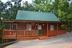 Here we go!  Simple Comforts cabin rental in Sevier County