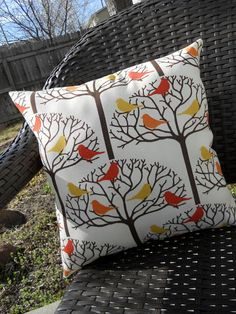 DIY: How to Recover an Outdoor Patio Cushion & Pillows