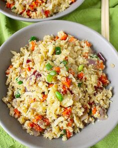 Paleo Cauliflower Fried Rice Recipe Paleo diet is a grain-less diet. Once you do the research and realize how much grain is in the world then you will find this diet effective. It's everywhere! Grain is the easiest form of food to make into anything we want to eat. It's delicious and full of energy. … Continue reading »