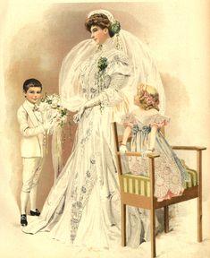 Suknia ślubna, 1905 Wedding dress, 1905