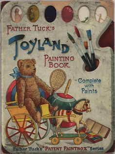 Toyland painting book