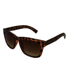 Another great find on #zulily! Tortoise Jungle Square Sunglasses by Betsey Johnson #zulilyfinds