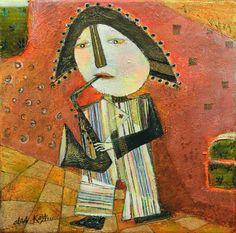 Pinzellades al món: Il·lustracions d'Olga Kost: música de la bellesa o bellesa de la música