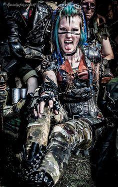 Post Apocalypse Wasteland Warrior