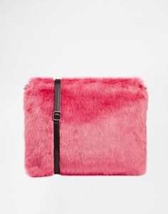 Faux fur is literally everywhere this season! Not quite brave enough? Then go for a bag for a subtle nod to the trend. http://asos.do/LS9IhK