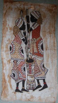 Batiks From Kenya- I will have to source this !