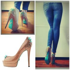 FIZZ nude JANIKO Heels - I Love Shoes, Bags & Boys