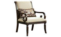 Ashley Lilly-Caramel Chair