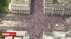Brexit: Marchers demand final #Brexit deal vote Campaigners are marching in central London to demand a final vote on any UK exit deal.  #StopBrexitSaturday #StopBrexitMarch