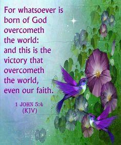 1 John 5:4 King James KJV