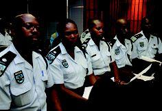 Police in Botswana