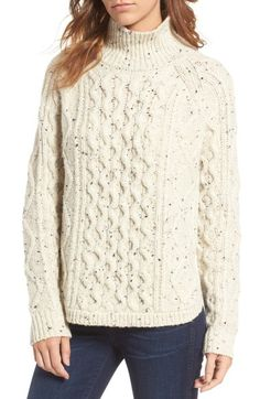 Madewell Cable Knit Sweater available at #Nordstrom