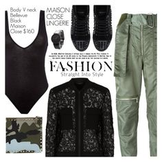 """Street Style"" by pokadoll ❤ liked on Polyvore featuring Maison Close, 3.1 Phillip Lim, BCBGMAXAZRIA, Philipp Plein, Valentino, South Lane and maisonclose"