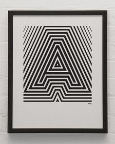 """A"" Alphabet Poster"