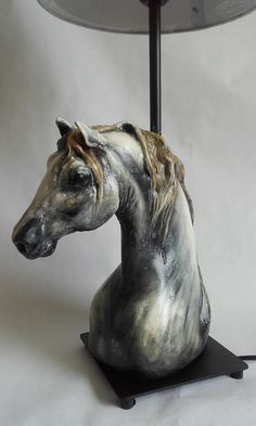 A lamp- horse by Kama Karst