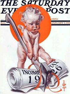 January 2, 1925     New Year 1926 JC Leyendecker   Saturday Evening Post
