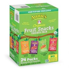 Annie's+Organic+Bunny+Fruit+Snacks+24+Ct.+Only+$11.19