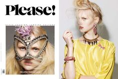 The Please Magazine 'The Little Princess' Shoot is Eccentric